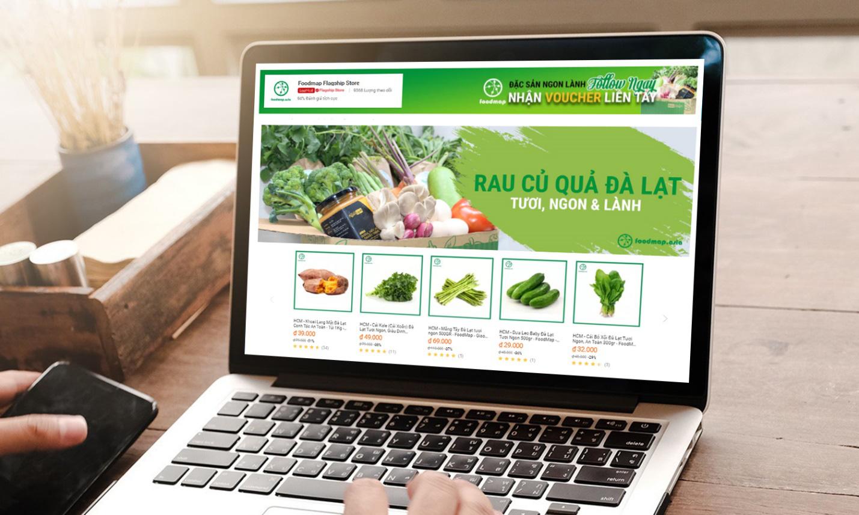 nông sản foodmap trên sàn thương mại điện tử